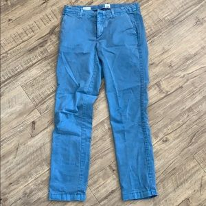 GAP Blue Girlfriend Chino Pants